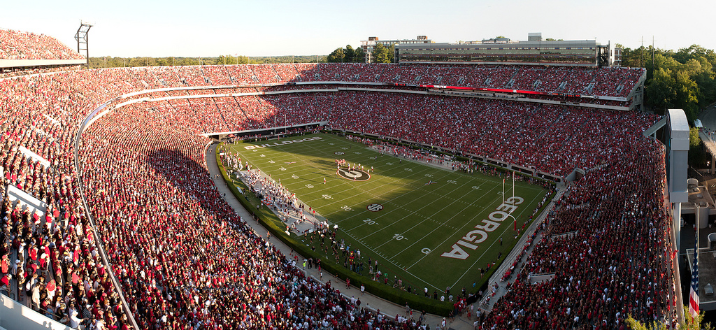 Add it to your itinerary: University of Georgia Football