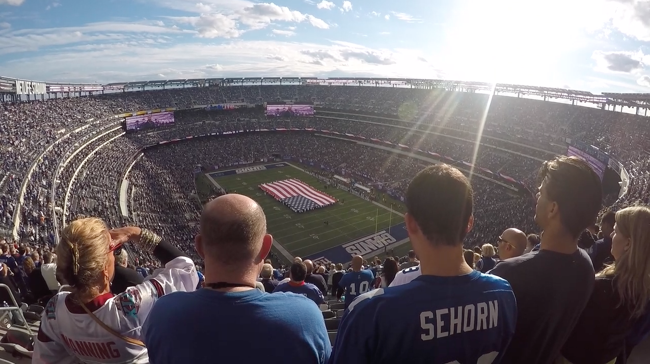 Is attending a NY Giants game… a good idea?