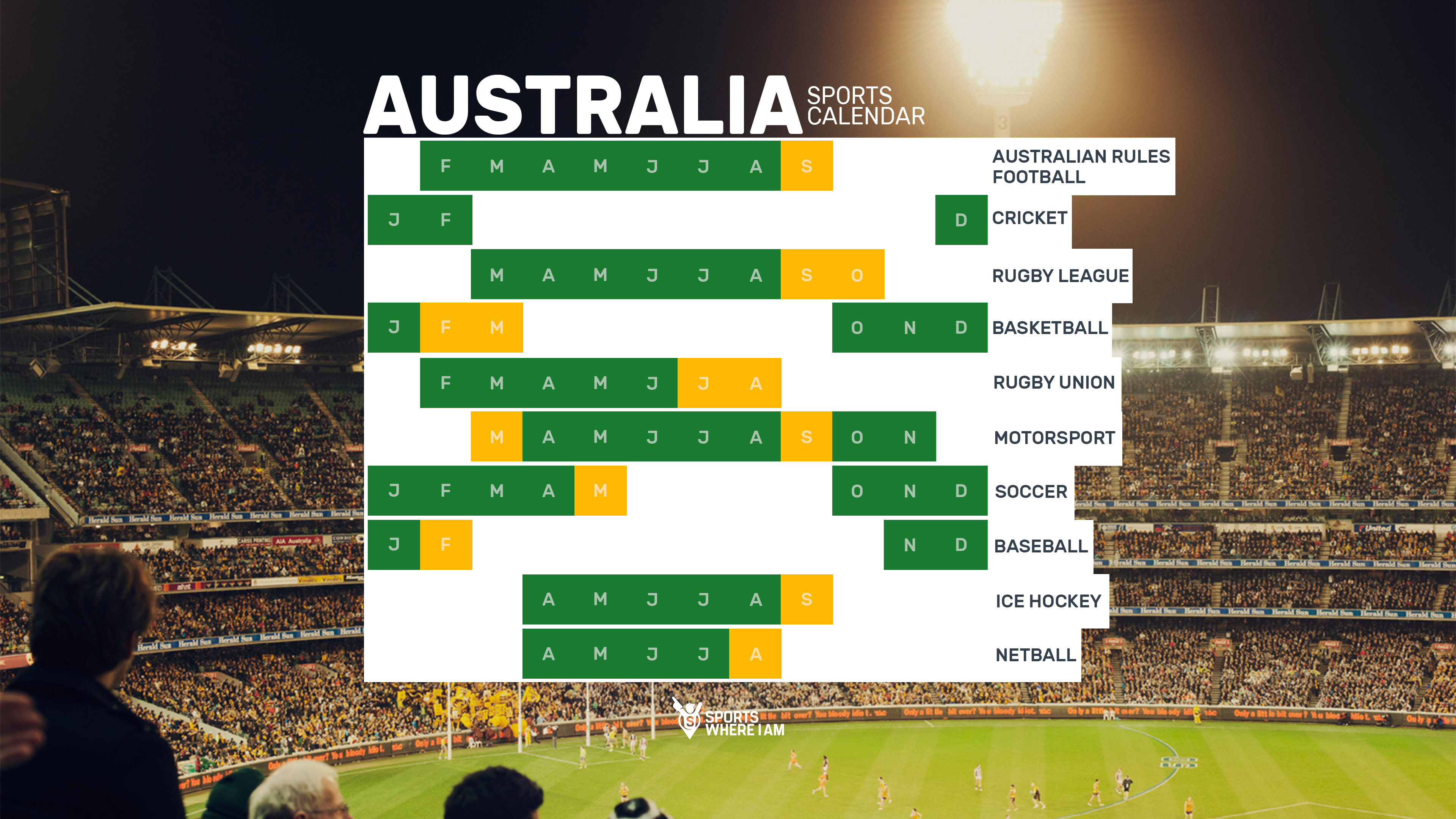 sports calendars 2018