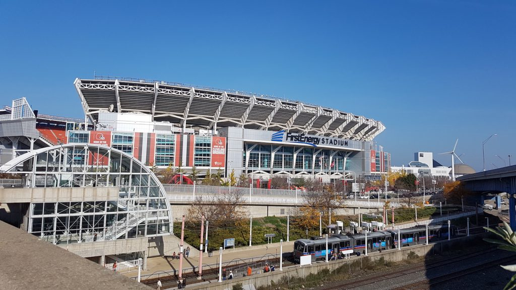 Getting to FIrstEnergy Stadium Cleveland Browns